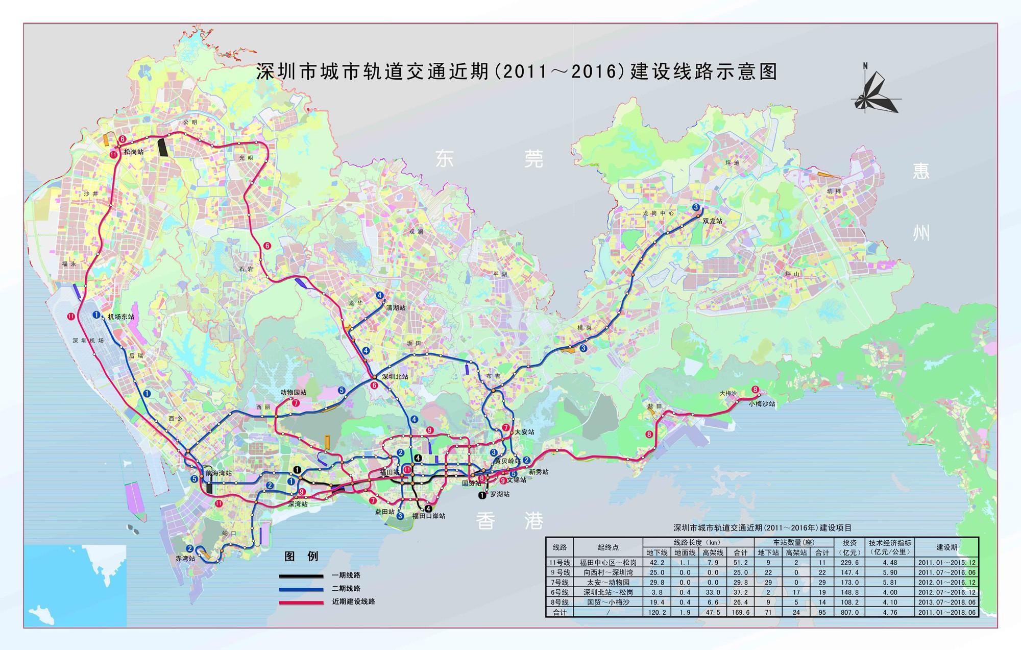 买房宝典:2030年地铁规划图